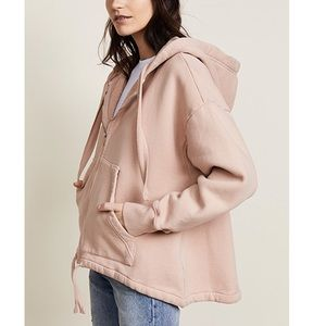 Citizens of Humanity Harper oversized hoodie Blush